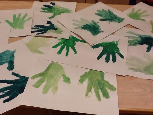 gröna händer