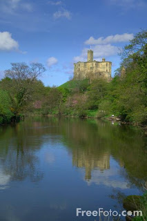 Warkworth Castle, Warkworth Guide, Northumberland