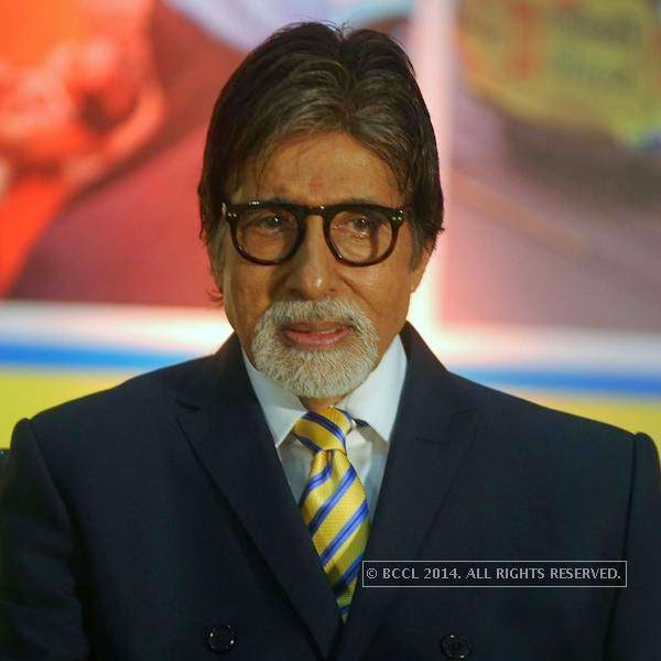 Amitabh Bachchan during the UNICEF event.