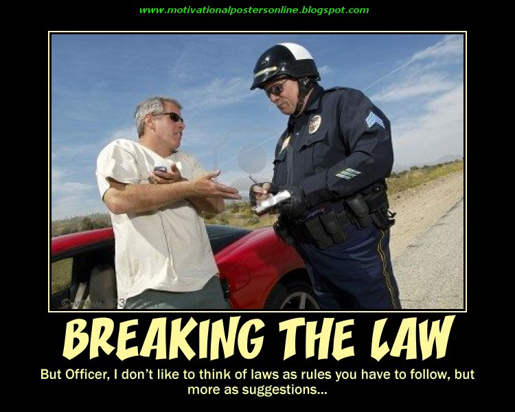 is breaking the law for a Breaking the law is something that most businesses try to avoid, but when it happens, it can have drastic implications for this reason, company owners and personnel need to stay attuned to employment law, workplace safety and prohibited behaviors.