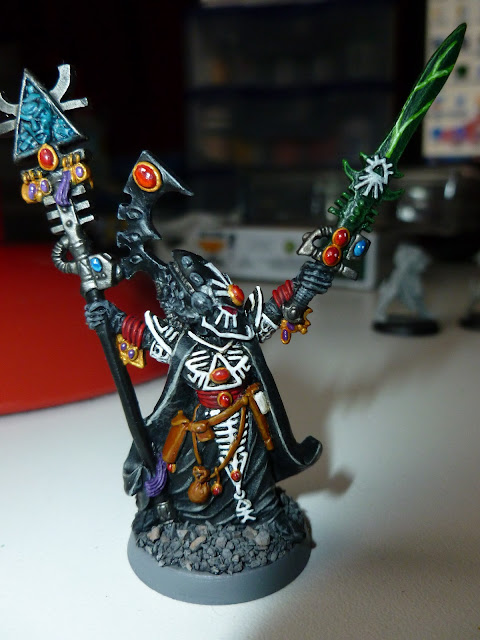 Painting Eldar Allies. Do you paint them in the same scheme? P1000485