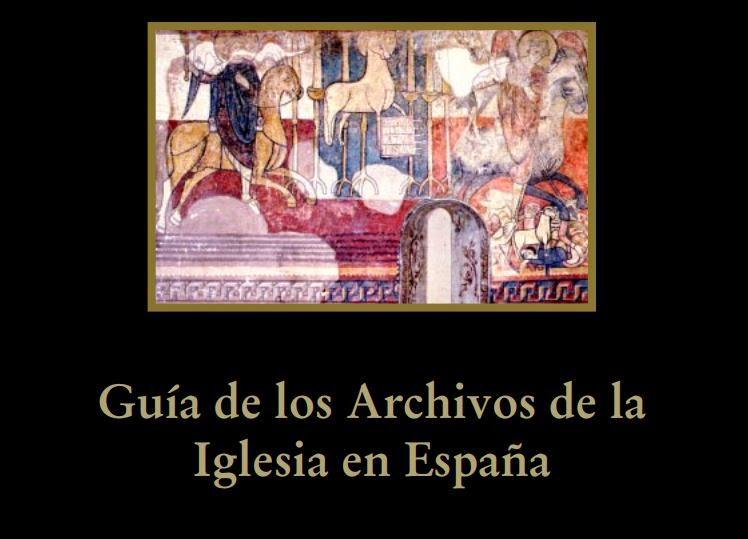 Guia de los archivos de la iglesia en espana