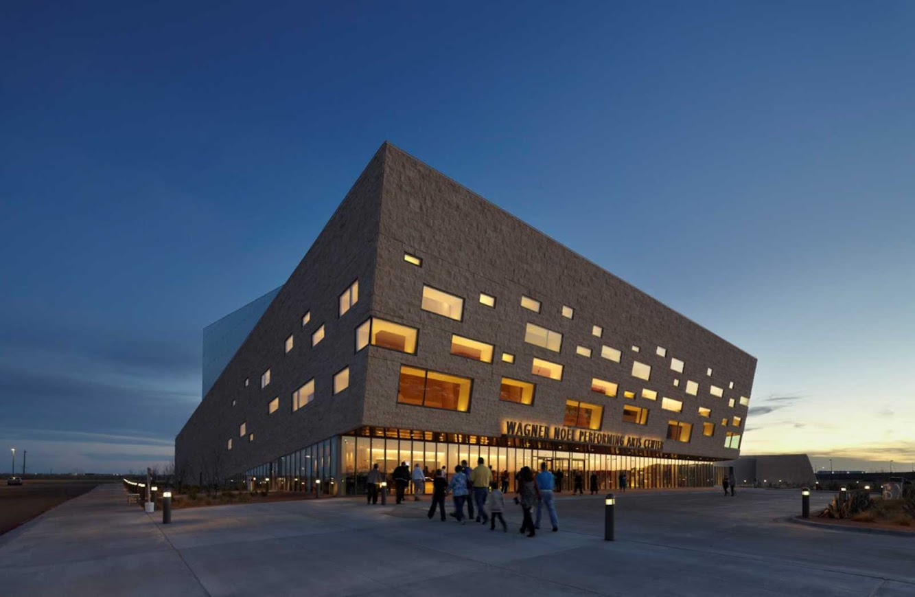Boora Architects + Rhotenberry Wellen: WAGNER NOEL PERFORMING ARTS CENTER by BOORA ARCHITECTS + RHOTENBERRY WELLEN