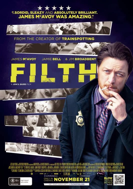 Poster Of English Movie Filth (2013) Free Download Full New Hollywood Movie Watch Online At Alldownloads4u.Com