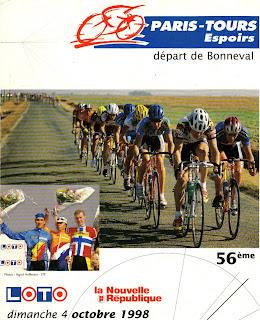 Paris-Tours Espoirs 1998 - plaquette
