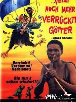 Phim Thượng Đế Cũng Phải Cười 3 - The Gods Must Be Crazy Iii : Crazy Safari (1991)