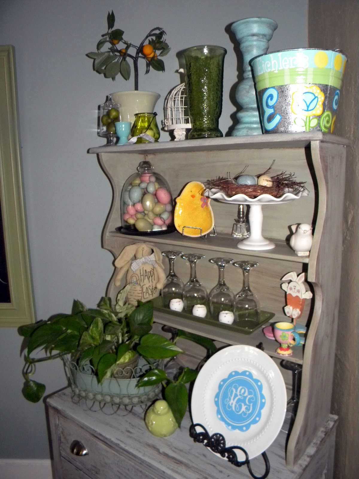 This And That Blog Easter Decorating