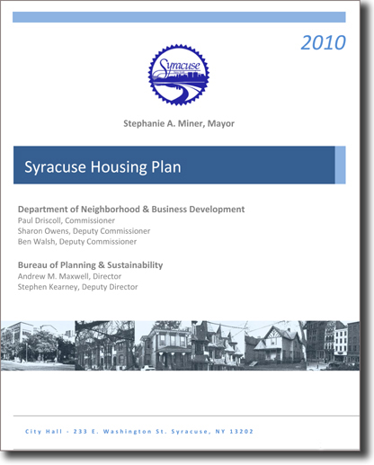 2010 Housing Plan Cover