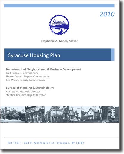 2010 Housing Plan Cover