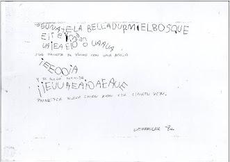 Escritura silábica con VSC