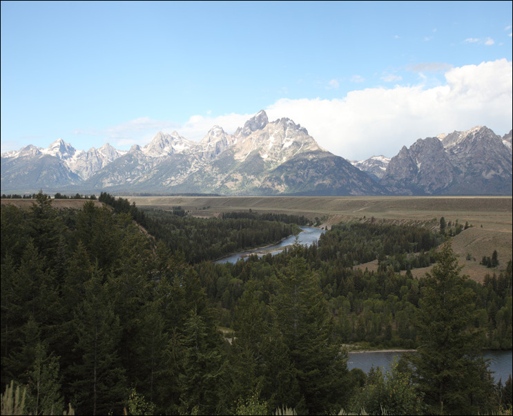 흉내낸 Snake River Overlook