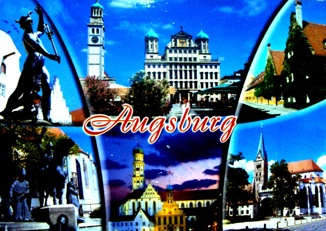 Pc 247 augsburg germany postcards galore for M belh user augsburg