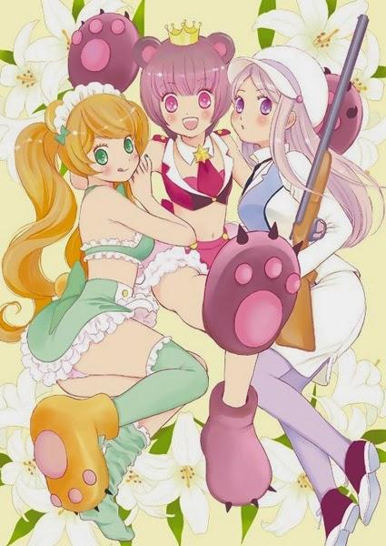 Yuri Kuma Arashi Manga Image