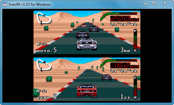 Snes9x: Top Gear
