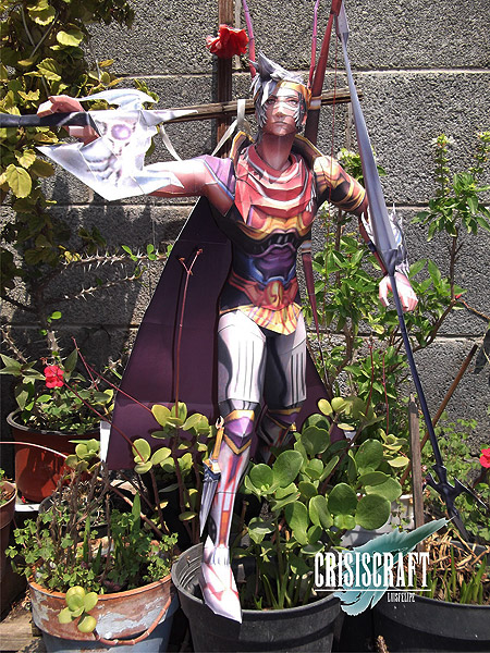 Bone Band Firion Papercraft