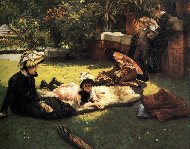 James Tissot - In the Sunshine