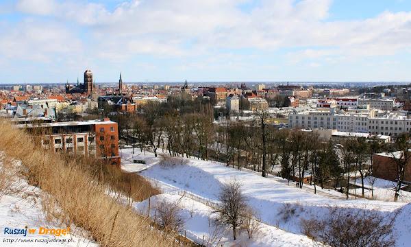 widok na Gdańsk z Góry Gradowej