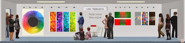 Sala de exposición virtual de pinturas de Lola Tajahuerce