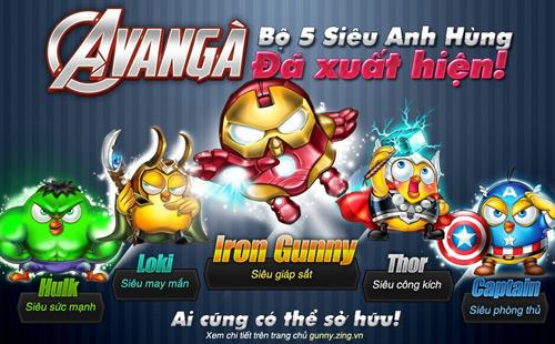 """""""Biệt đội siêu anh hùng"""" đổ bộ vào vương quốc Gunny 1"""