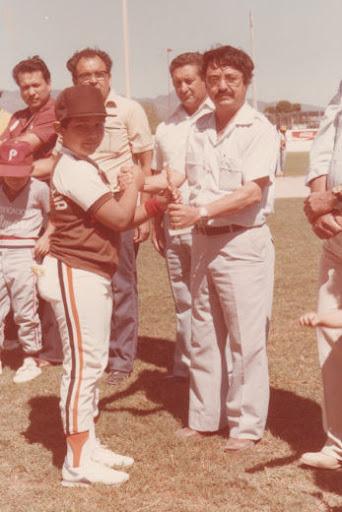 Reynaldo Sepúlveda de la selección categoría menor de 1986