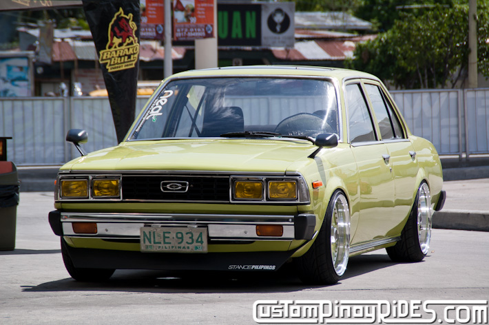 Kristoffer Bing Goce The Grinch Old School Toyota Corona KVG Auto Grooming Custom Pinoy Rides Car Photography pic1