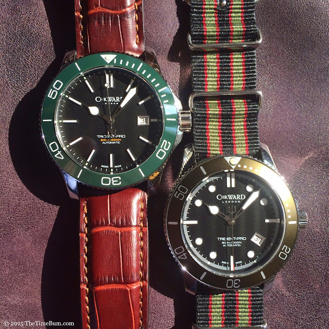 Christopher Ward C60 Trident Pro Mark I and Mark II