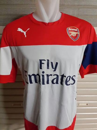 Jual Jersey Training Arsenal Merah 2014-2015