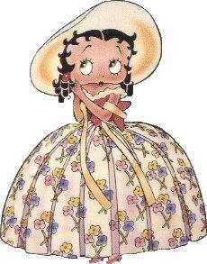 Betty Boop vestido ancho