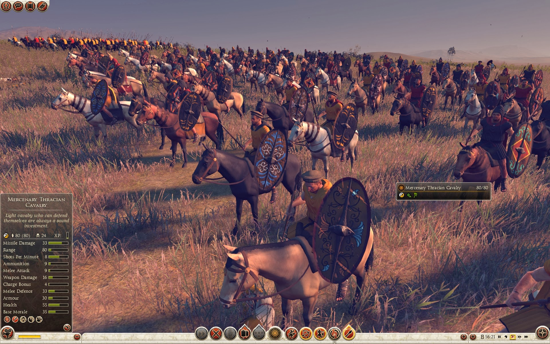 Mercenary Thracian Cavalry
