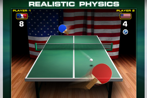 World Cup Table Tennis game free download for iphone