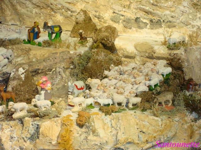 Ma cr che 2013 1 re partie la cr che aux mille moutons for Creche salon de provence