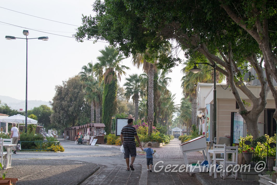 Bodrum, Yalıkavak'tan ayrılırken