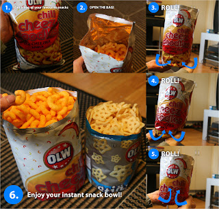 Instant Snack Bowl Infographic