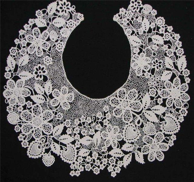 Irish Crochet. Ukrainian Crochet artist and designer Miroslava