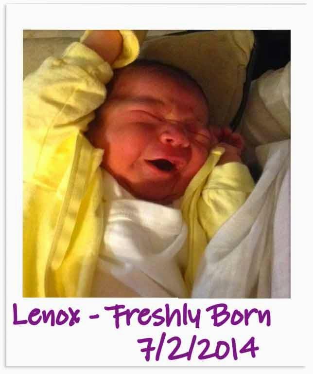 Happy 1st Birthday from Spirit of Life to Lenox