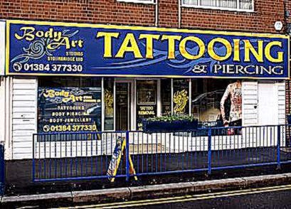 Body Art Studios Stourbridge Jewellery