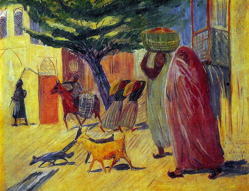 Martiros Saryan - The street, 1929