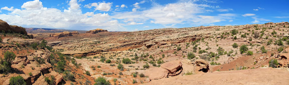 Panorama over Dragonfly Canyon