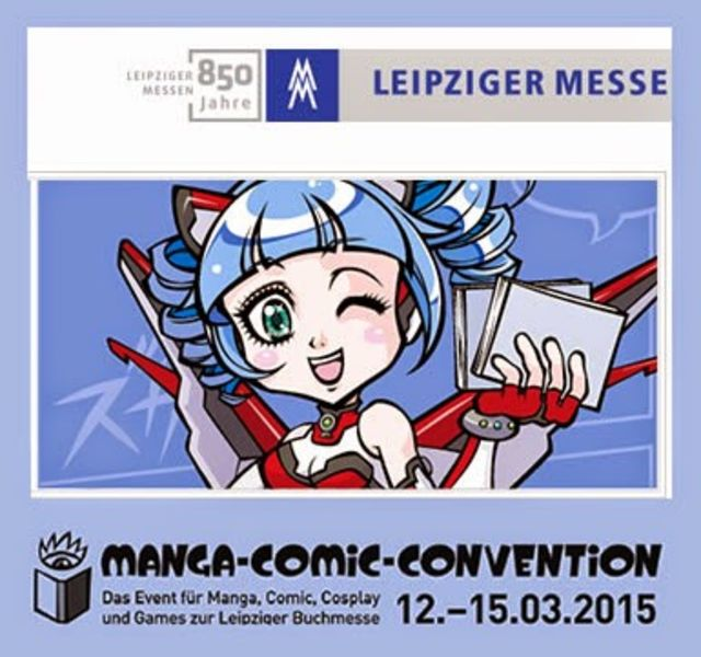 Manga Comic Convention 2015 LBM MCC Leipziger Buchmesse Cosplay