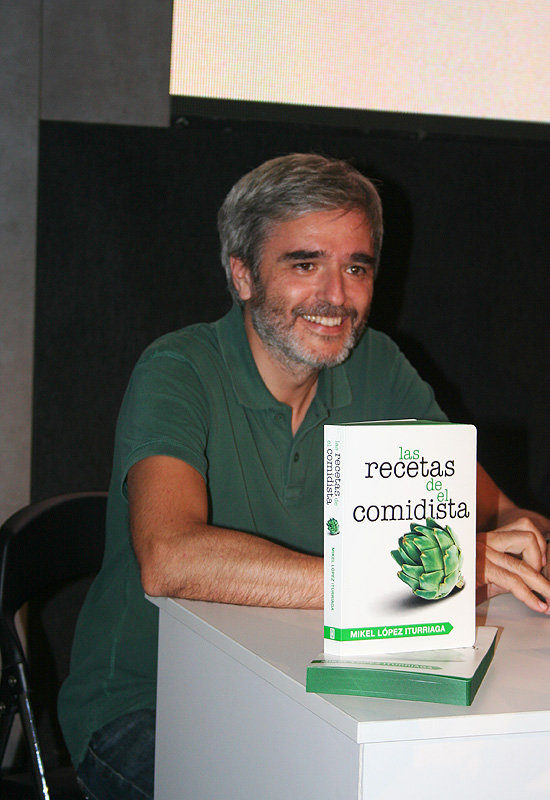 Presentación  y firma en Bilbao del libro de El Comidista