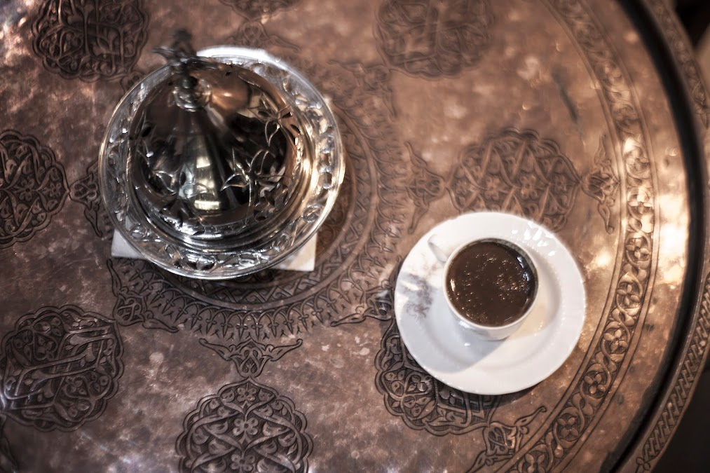 turkish coffee traditional way