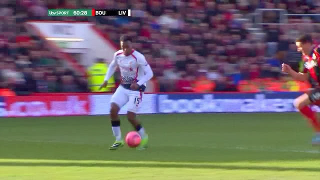 Sturridge, Bournemouth - Liverpool