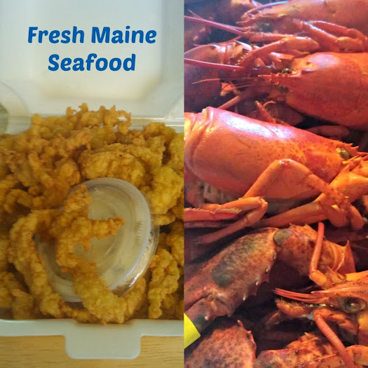 Our Trip to Maine: Tenderloin Clams and Fresh Steamed Maine Lobster