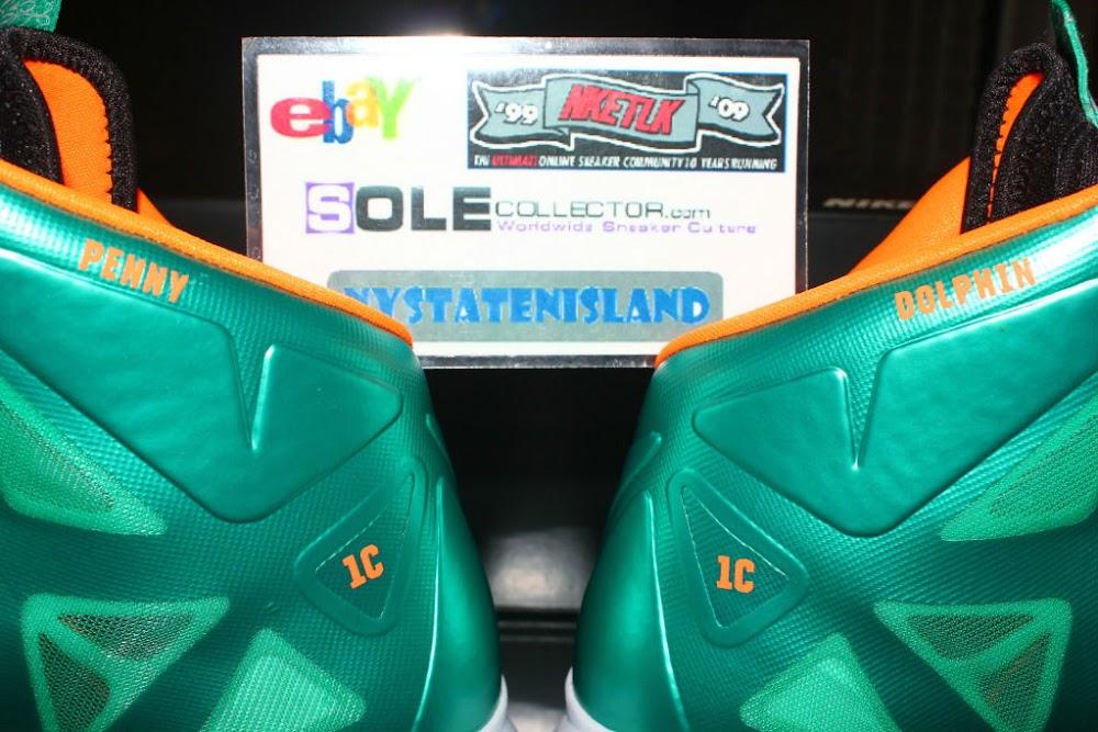 pretty nice b647e 01bce ... Nike LeBron X iD Miami Dolphins by nystatenisland ...