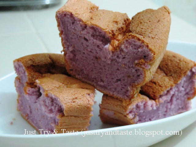 Resep Cake Singkong Jtt: Resep Cake Chiffon Talas: Gagal!