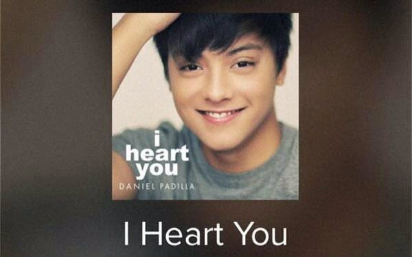 I Heart You Daniel Padilla album Track List