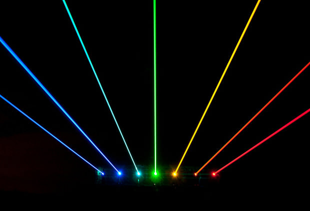 rainbow at night,Rainbow At Night lasers,lasers Rainbow At Night,Photos of High Powered Laser Rainbows Projected Across the Night Sky,Photos of High Powered Laser Rainbows,High Powered Laser Rainbows Photos,Laser Rainbows Photos,Laser Rainbows