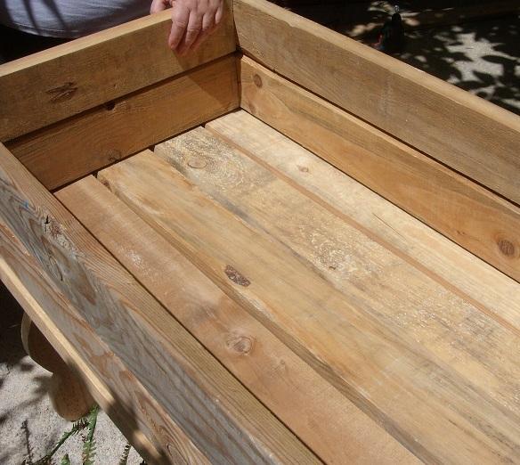 Mesas de cultivo mis chapuzas caseras for Como hacer una mesa de cultivo casera