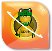 SDL TRex with hands