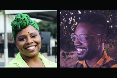 Patrisse Cullors and Maxwell Addae
